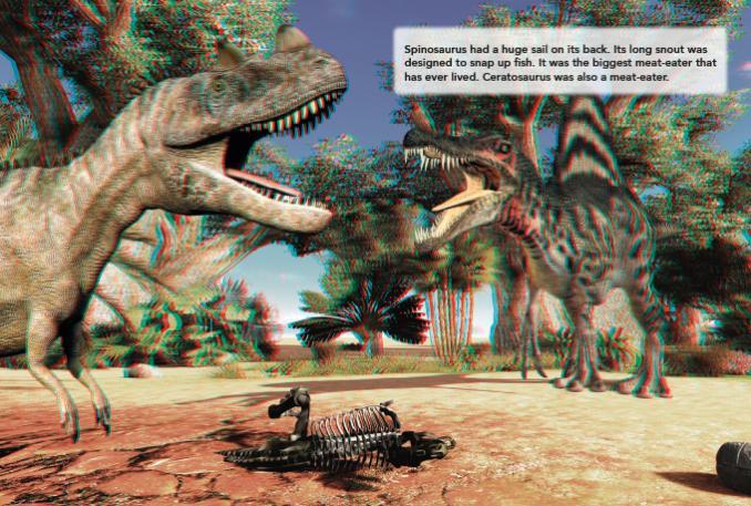 Dinosaur Sticker Scene